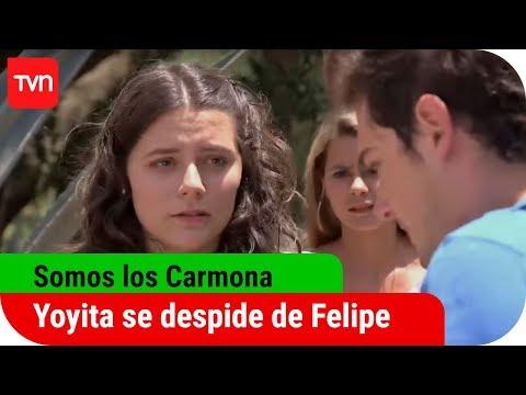 Somos los Carmona, Capítulo 149: Yoyita se despide de Felipe