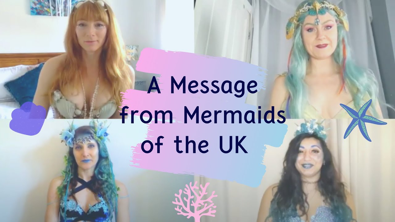 International Mermaid Day Monday 29 March - A Message from Mermaids of the UK