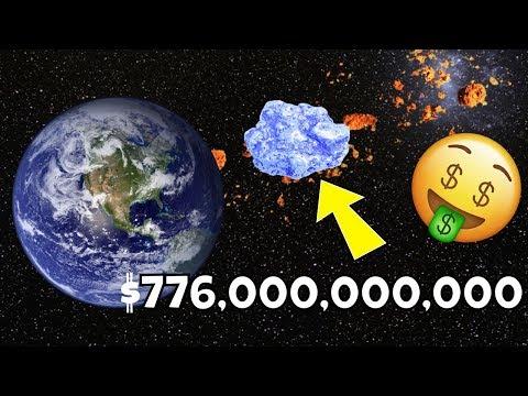 Qué pasaria si pudieras minar asteroides?