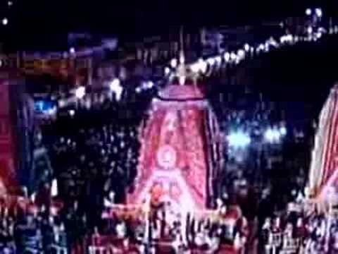 Suna vesa of Lord Jagannath (Ratha yatra Puri)