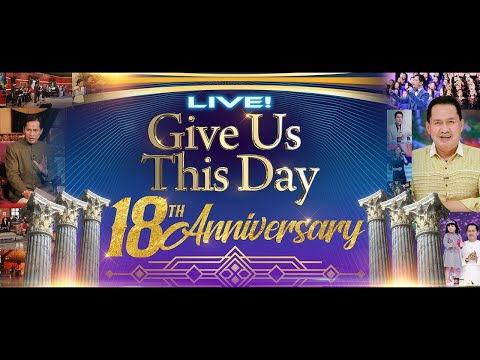 WATCH LIVE: GIVE US THIS DAY by Pastor Apollo C. Quiboloy at SMNI Studios, Davao City