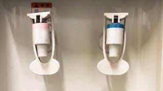 정수기에 콜라를 넣으면 깨끗한 물이 나올까?
