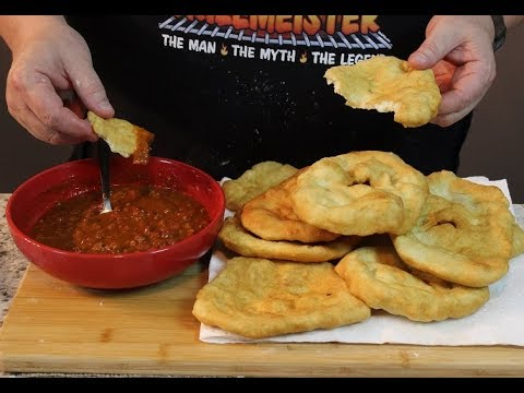 Indian Fry Bread!  (Dunk it in your Chili)
