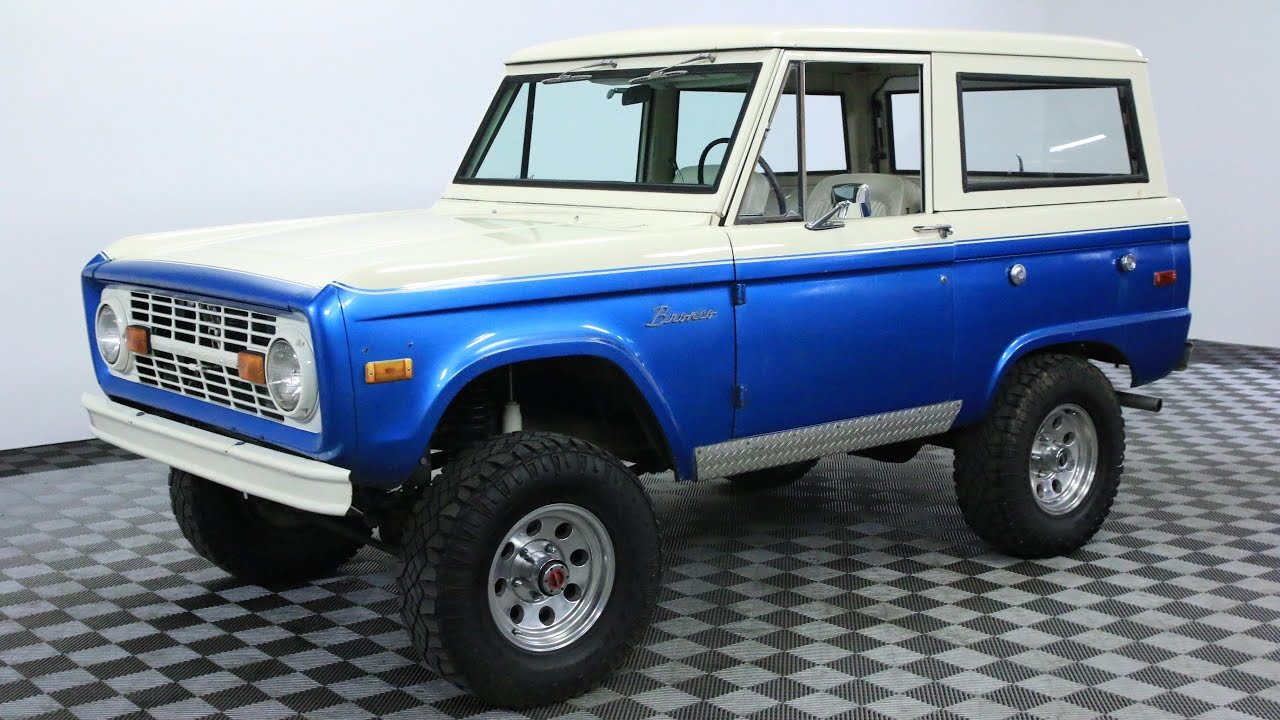 1970 ford bronco youtube. Black Bedroom Furniture Sets. Home Design Ideas