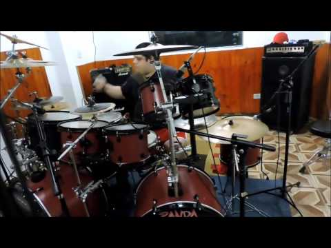 Buried Alive - About2Crash - Panda Drummer Aquiles Priester (DrumCover)