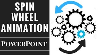 Powerpoint Spining Wheels Animation Tutorial