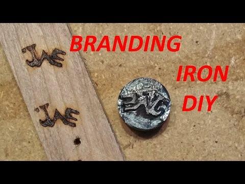 Homemade Wood Branding Iron DIY Wood Burning