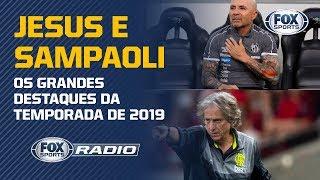 Jorge Jesus foi melhor que Jorge Sampaoli? FOX Sports Rádio debate!