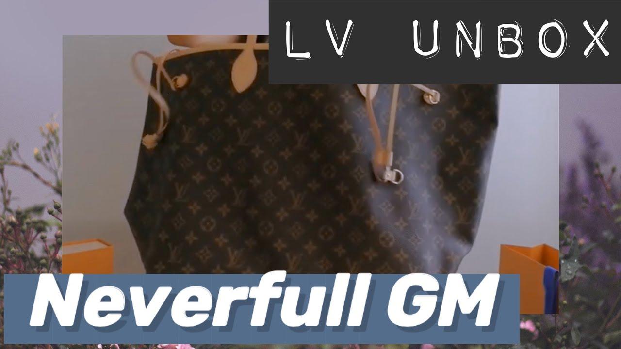 a528a6fb31ba Unbox  Louis Vuitton Neverfull Monogram Canvas GM in Pivoine - YouTube