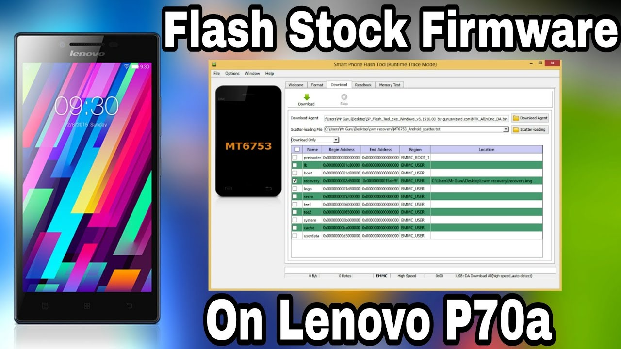 How to Flash Stock Firmware on Lenovo P70-A by All About Tech - Hamza