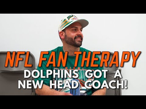 NFL FAN THERAPY: Dolphins Got A New Head Coach