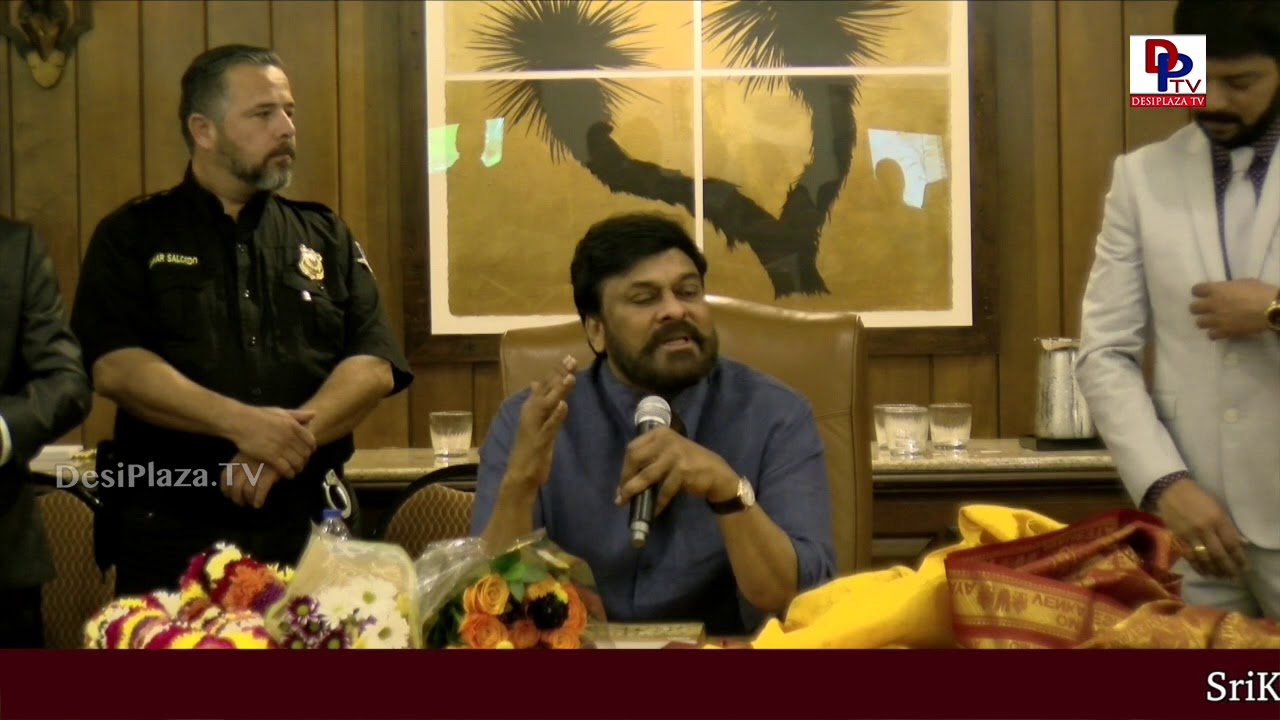 I had a lot of belief on my fans says Megastar Chiranjeevi - Chiranjeevi USA Tour | DesiplazaTV