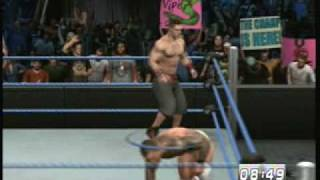 Smackdown vs Raw 2010 John Cena vs Randy Orton Iron Man Match Wwe Championship Part 1