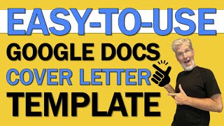 Free Cover Letter Template Google Docs Youtube