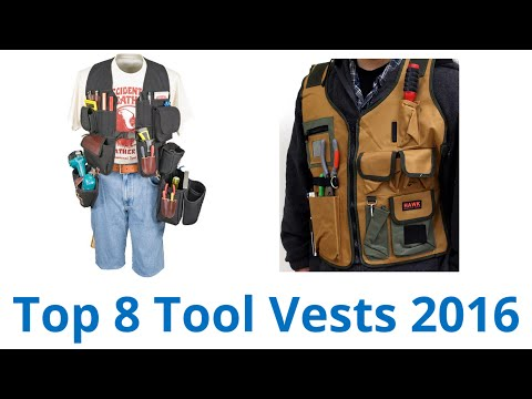 8 Best Tool Vests 2016