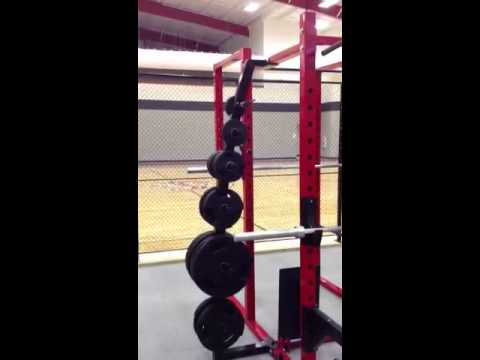 Custom weight room in indiana pro industries