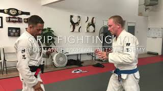 Grip Fighting 101 | Performance Martial Arts Academy | Roseburg BJJ