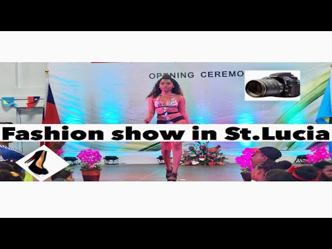 Fashion show ( St.lucia Taiwan trade exhibition)