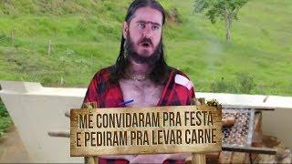 Plantão do Chico: Convidam pra festa e pedem pra levar carne e cerveja!?
