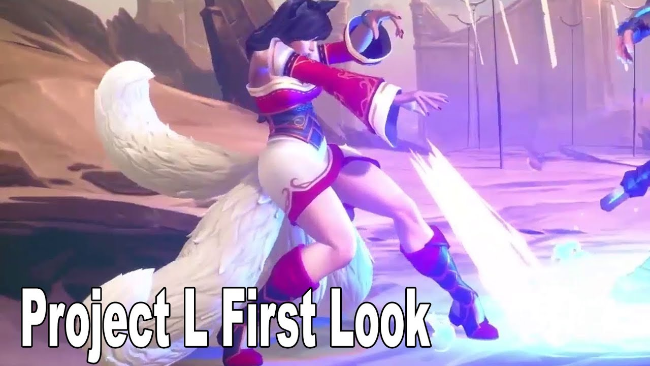 Riot Game's Project L - First Look Gameplay Teaser [HD 1080P] - GamersPrey