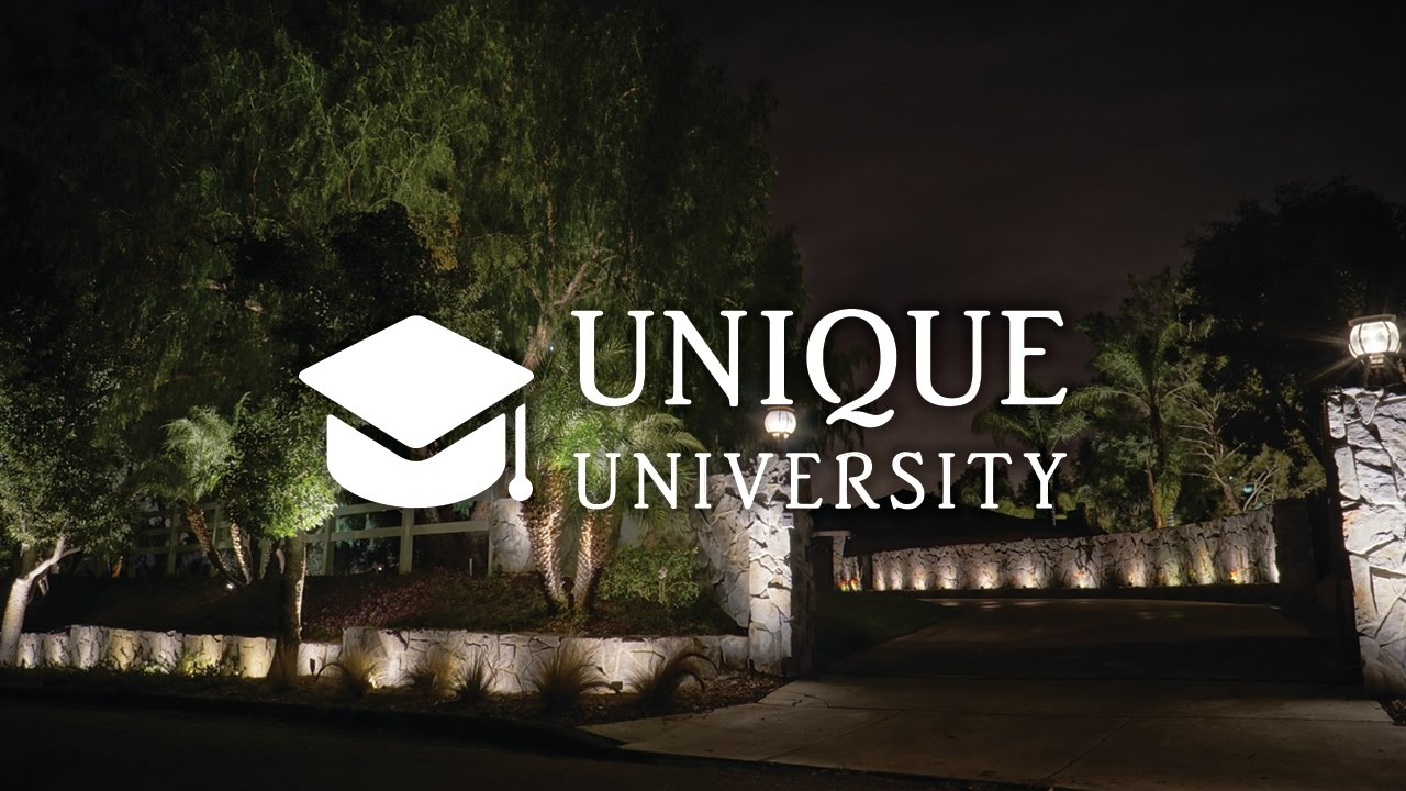 Elegant Get Trained At Unique University (Unique Lighting Systems®) Design