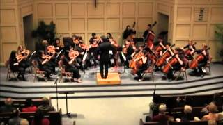 Dvorak Serenade for Strings, mvt. 3. Vivace Orchestra.