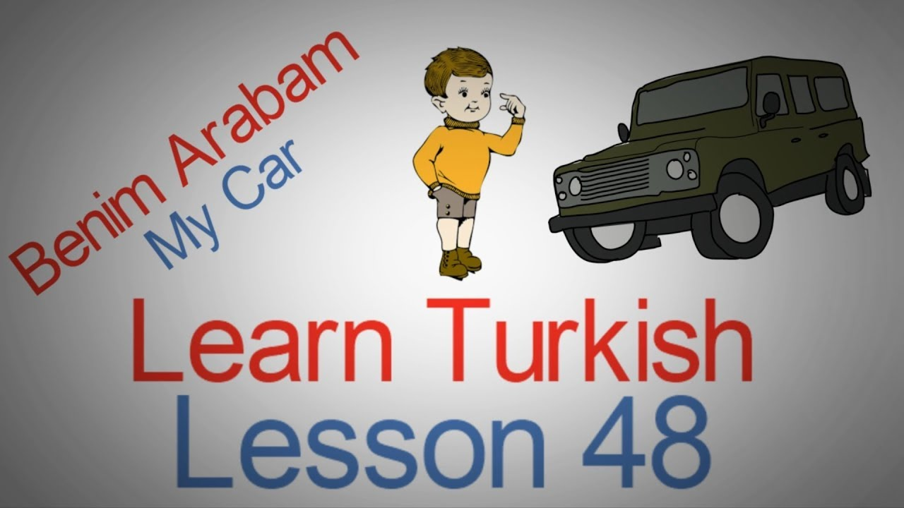 Learn Turkish Lesson 48 - A Little Extra Example of Possessive Pronoun in Turkish
