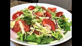 Салат-Ужин  ВДОХНОВЕНИЕ. Что бы такое вкусное съесть чтобы не хотелось есть!