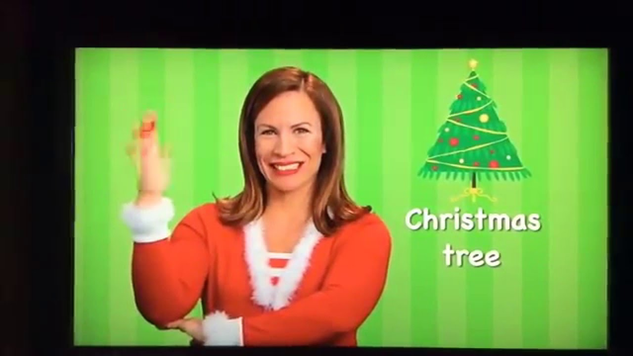 Christmas Tree In Sign Language Youtube