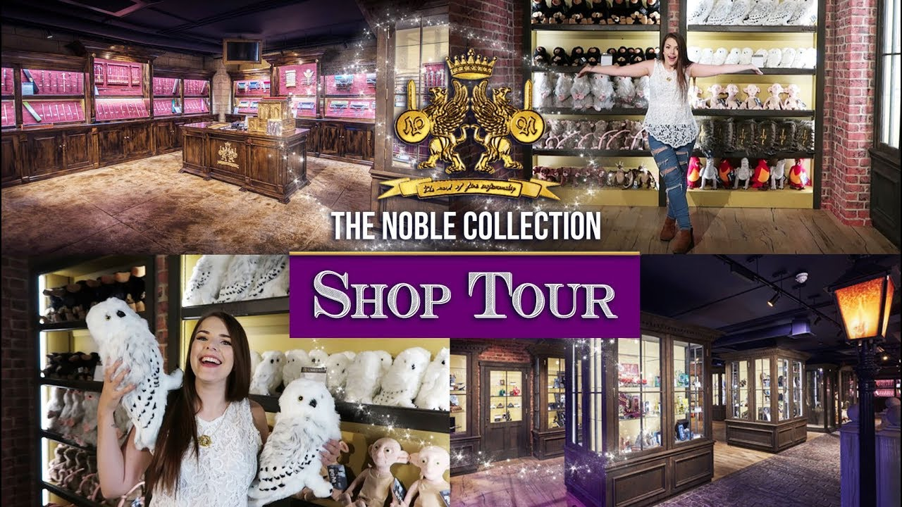 collection store the noble collection shop tour cherry wallis youtube