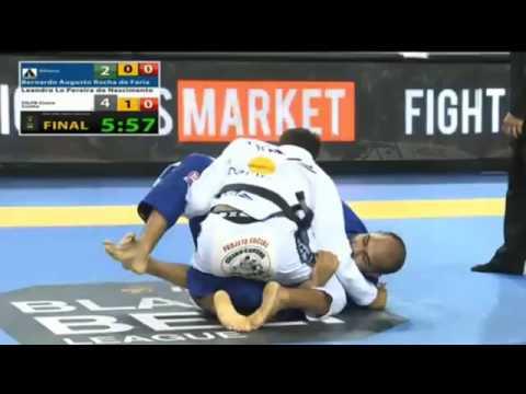 Bernardo Faria vs Leandro Lo 2015 IBJJF PAN AMS Open Class Finals