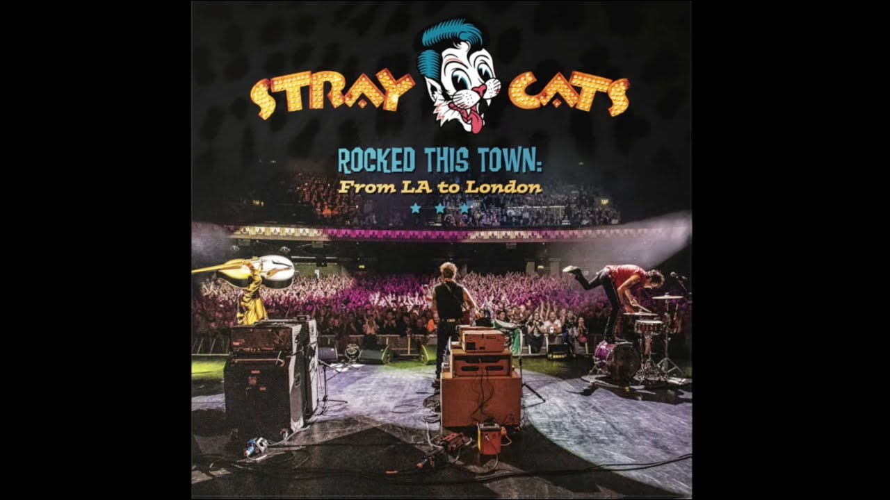 Stray Cats - Rocked This Town From LA to London (Promo Video)