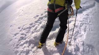Mont Blanc climb gouter route June 18th 2015