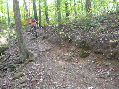 West Branch Gorge Side Mtb Trails Youtube