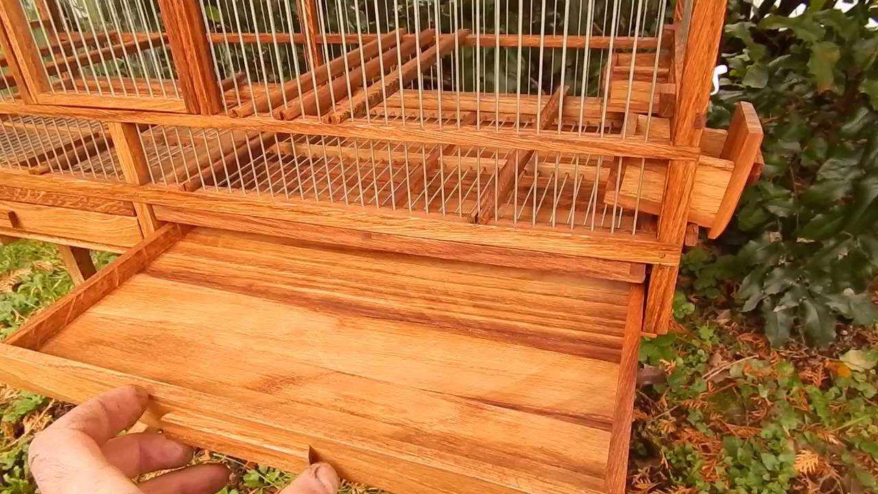 Wooden Bird Cage 5 Youtube