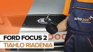 Oprava FORD FOCUS vlastnými rukami - video sprievodca autom
