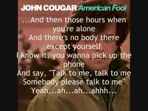 John Cougar: Hand To Hold On To