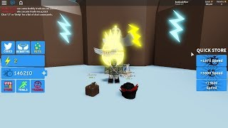 How To Get Lightning Currency In Dashing Simulator Roblox