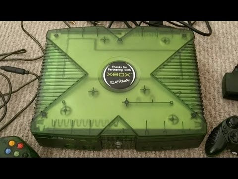 Limited Edition Launch Team Bill Gates Signed Xbox Console