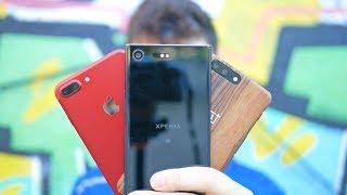 XZ PREMIUM cámaras vs IPHONE 7 Plus vs ONEPLUS 5, ¡dura BATALLA!