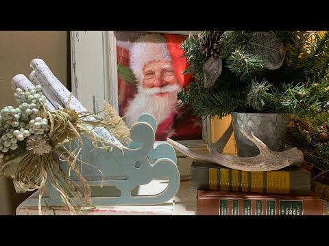 Inexpensive DIY Using $3 Dollar General Sleigh & Dollar Tree Items (61)