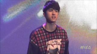 131020 VIXX(빅스) KEN & RAVI - Turn Up The Music @ The Milky Way in Malaysia (fancam)