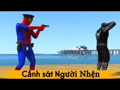 Cảnh sát người nhện bắt quái vật Venom | Học tiếng Anh qua bài hát cho thiếu nhi