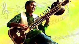 Raga Bhoopali & Khamas - Sitar Instrumental Music - B.Sivaramakrishna Rao