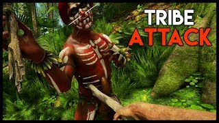 Attacking a TRIBE w/ BOW AND ARROW! (Green Hell Gameplay Part 5)