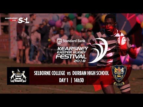 KERF - Selborne College XV vs Durban High School XV, 29 March 2018