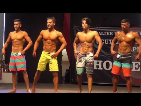 2016 KKTC Genç Erkekler Atletik Fizik - 178 Kategorisi