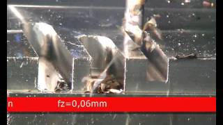 guhring rf100va slot milling