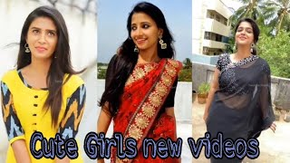 New Tamil Instagram Reels Collection  | Cute Tamil Girls Reels | Tamil Dancing Queens