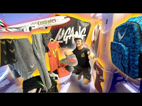 Thumbnail: l TURNED A $21,000 FIRST CLASS AIRLINE BATHROOM INTO A MAVERICK MERCH SHOP!